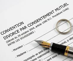 Le Caractere Executoire De La Convention De Divorce Par Consentement